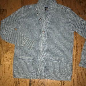 cf70f0bd8 Ralph Lauren Cotton Cashmere Shawl-Collar Sweater